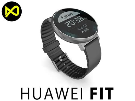 Huawei Fit Small Band Size Smartwatch 3D model   CGTrader