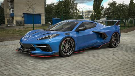 For $25,000, You Can Make a Chevy Corvette C8 Look Like This