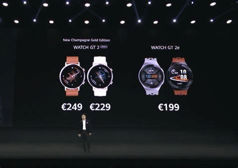 Huawei announces the Watch GT2e and Sound X speaker