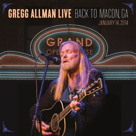 GREGG ALLMAN TO RELEASE LIVE ALBUM & DVD, HOST FIRST LAID