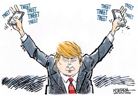 Cartoons: Best of Donald Trump and Twitter