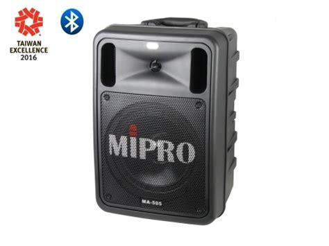 MIPRO - Products   MA-505 Portable Wireless PA System