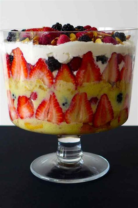Trifle - Recette Traditionnelle Anglaise   196 flavors