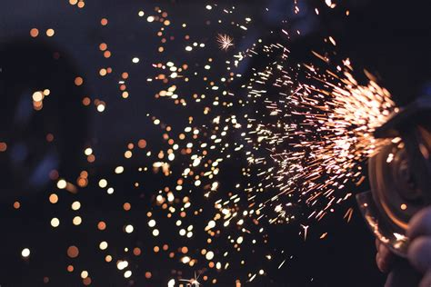 Free Images : work, technology, night, tool, sparkler