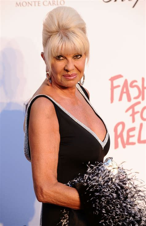 Ivana Trump in Fashion For Relief - 64th Annual Cannes