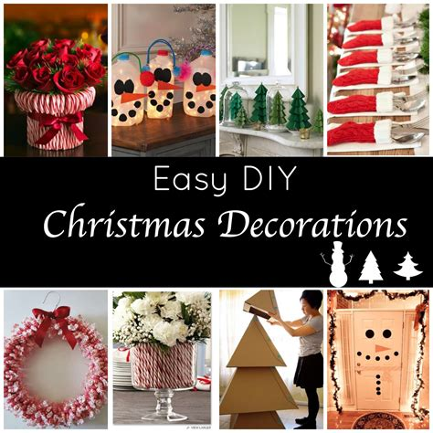 Cute and Easy DIY Holiday Decorations for a Festive Home!