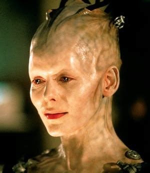 The Borg Queen was played by Alice Krige in Star Trek