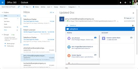 Boost Productivity with the Salesforce App for Outlook
