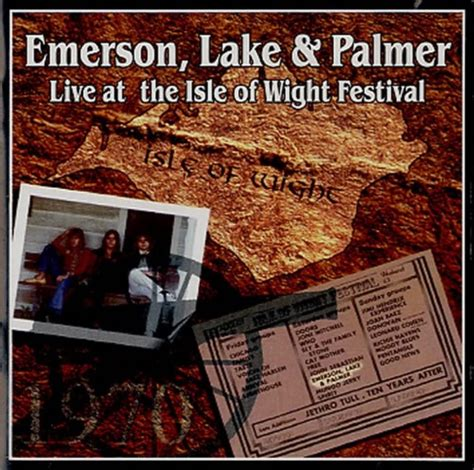 EMERSON LAKE & PALMER Live At The Isle Of Wight Festival