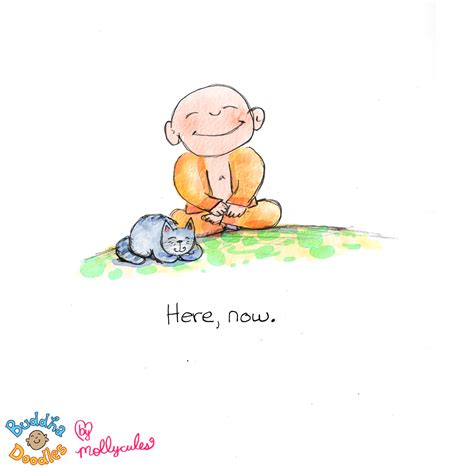 Today's Buddha Doodle: NOW   HuffPost