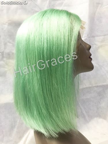 Bobo perruque Front Lace wig human hair wig colorfull wig