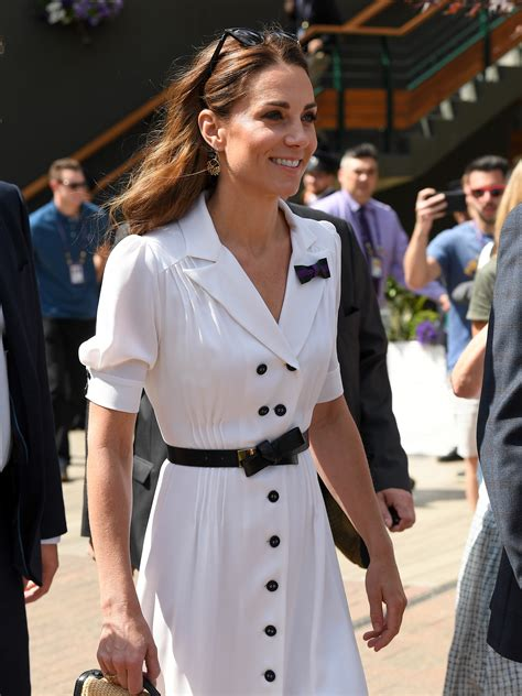 Kate Middleton looks effortlessly chic in white dress at