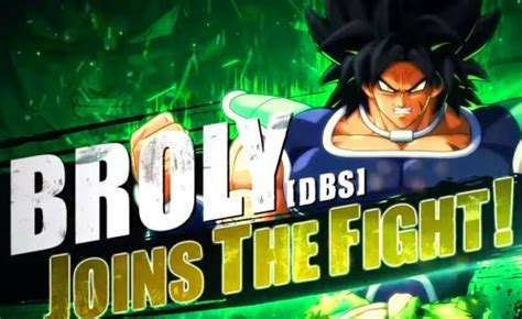 Dragon Ball FighterZ: Broly [DBS] trailer, release date