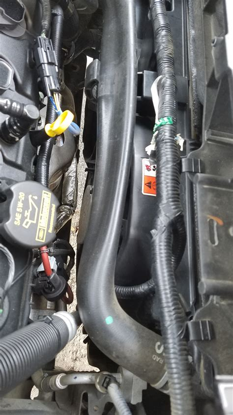 Upper Radiator Hose Flat? *Pic*   Ford Explorer and Ford