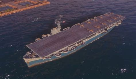 Aircraft carriers   Warship types - World of Warships Game