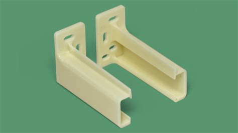 32-089 Drawer Track Back Plate, Pair : SWISCO