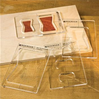 Butterfly Key Inlay Template Set - Rockler 22767 | Elite Tools