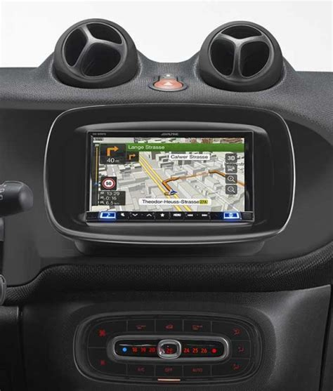Alpine INE-W997D Installation Kit for Smart Fortwo