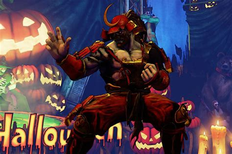 Street Fighter 5 is getting a Halloween-themed update