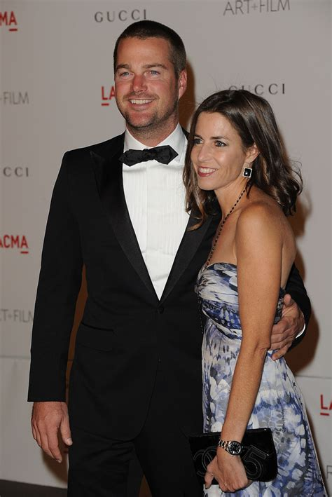 Chris O'Donnell, Caroline Fentress - Chris O'Donnell and