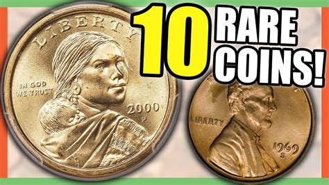 10 EXTREMELY RARE COINS WORTH MONEY - ERROR COINS TO LOOK