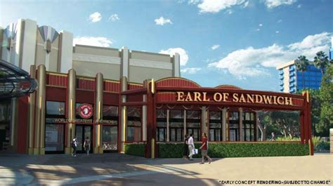 Disneyland Earl of Sandwich Official! Opening Early Summer
