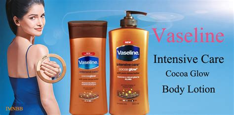 Vaseline Intensive Care Cocoa Glow Body Lotion Review