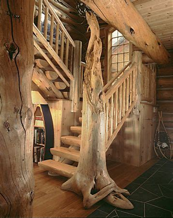 Trees house stairs