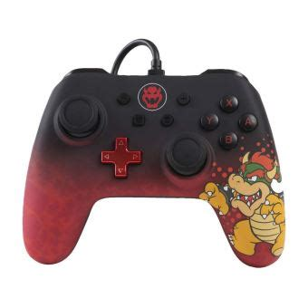Manette filaire Nintendo Switch Iconic Bowser - Accessoire