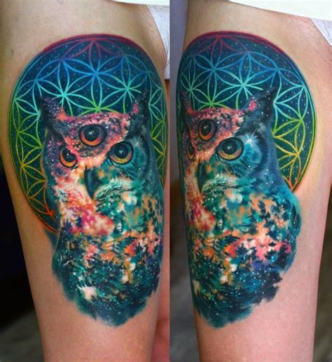 Some Of The Most Unearthly Space Tattoos You Will See In