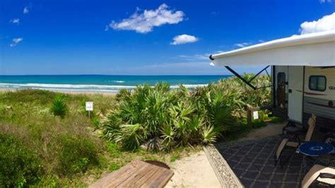 Site 23 at Gamble Rogers State Park in Florida