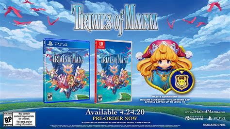 Trials Of Mana Now Up For Pre-Order | NintendoSoup