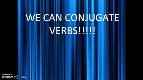 """SONG - French conjugate -er Verbs set to the tune of """"We"""